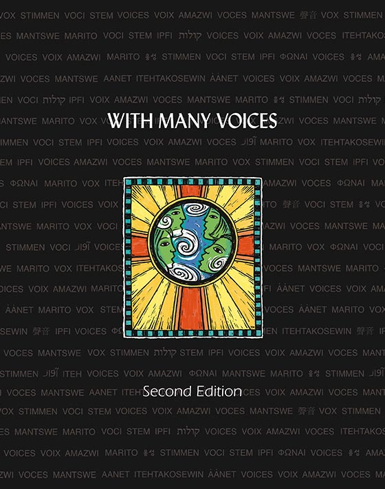 With Many Voices songbook